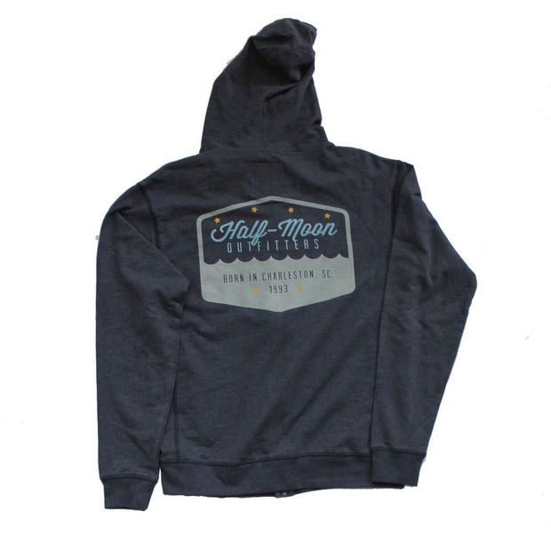 Badge Logo Full Zip Hoody