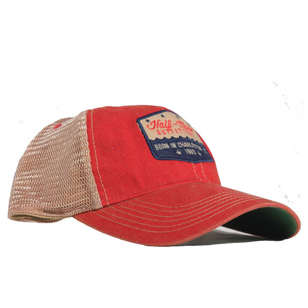 Badge Trucker Hat for Kids