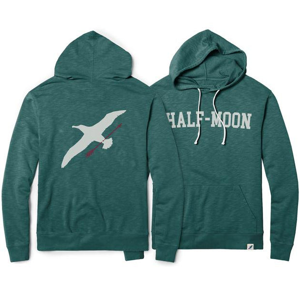vin-chateau-chalon Collegiate Albatross Terry Hoody Washed Green
