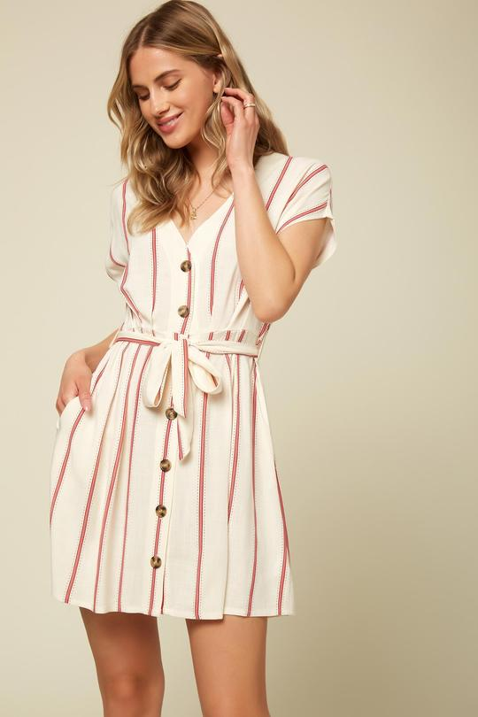Lina Stripe Dress for Women