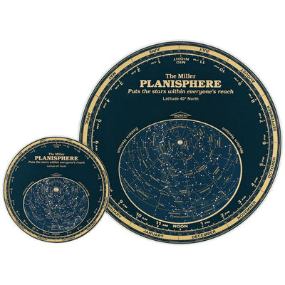 MILLER PLANISPHERE 30 DEGREES 5.5""