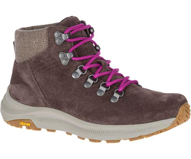 Merrell Ontario Suede Mid Boots for Women Bracken