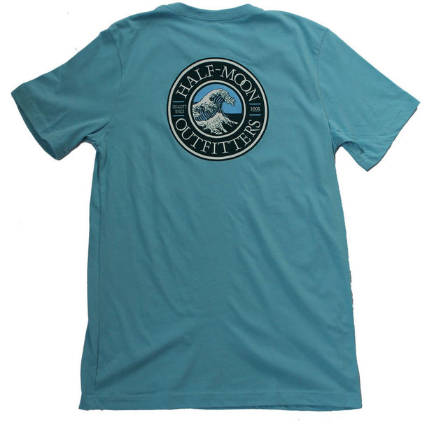 Short Sleeve Wave Logo T-Shirt