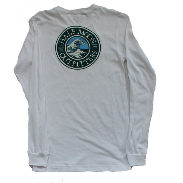 Long Sleeve Wave Logo T-Shirt