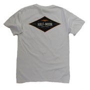 Short Sleeve Diamond Bird Pocket T-Shirt