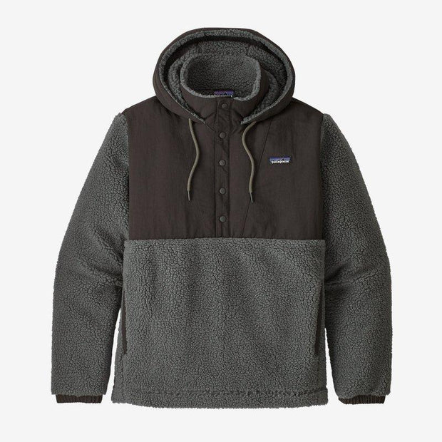 Patagonia Shelled Retro-X Fleece Pullover for Men Forge Grey