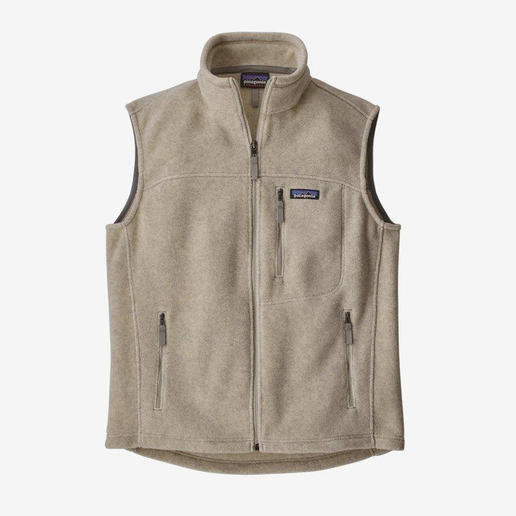 Patagonia Classic Synchilla Fleece Vest Oatmeal Heather