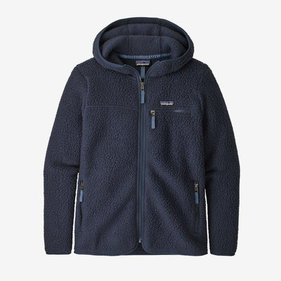 Patagonia Retro Pile Fleece Hoody for Women New Navy