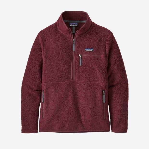 Patagonia Retro Pile Fleece Marsupial for Women Chicory Red