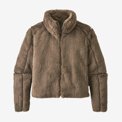 Patagonia Lunar Frost Jacket for Women Furry Taupe