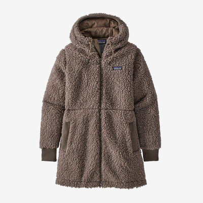 Patagonia Dusty Mesa Fleece Parka for Women Furry Taupe