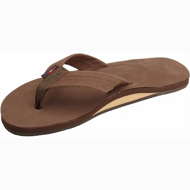 Leather Single Arch Sandal for Men