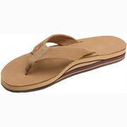 Leather Double Arch Sandal for Women