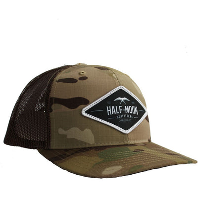 Diamond Bird Multicam Camo Trucker Hat
