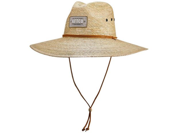 AFTCO Top Caster Straw Hat Natural