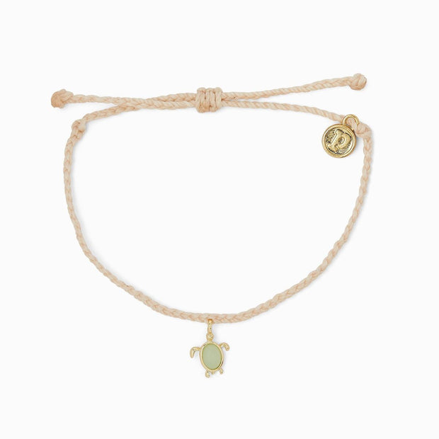 Gold Save the Sea Turtles Charm