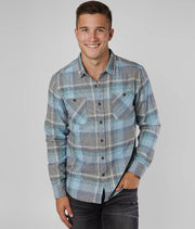 ASHBURY LONG SLEEVE FLANNEL SHIRT FOR MEN