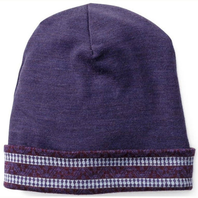 Merino 250 Reversible Pattern Cuffed Beanie for Kids