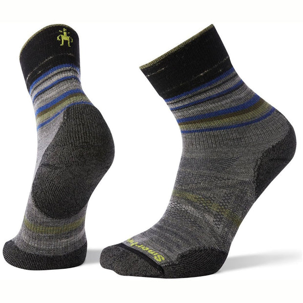 PhD Outdoor Light Pattern Mid Crew Socks for Men