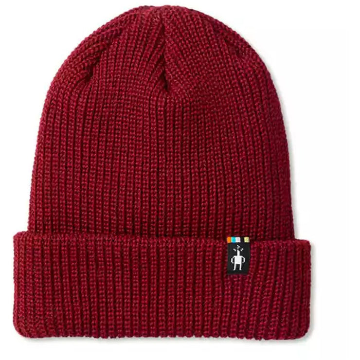 Snow Seeker Ribbed Cuff Hat for Men