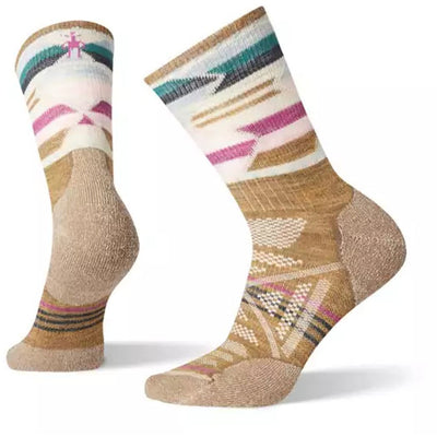 PhD Outdoor Light Pattern Mid Crew Socks for Women