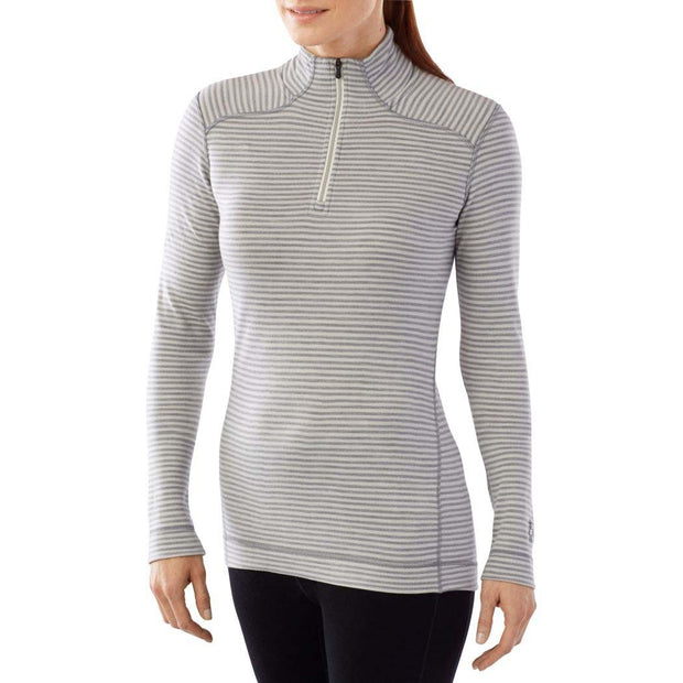 Merino 250 Base Layer Pattern 1/4 Zip Pullover for Women