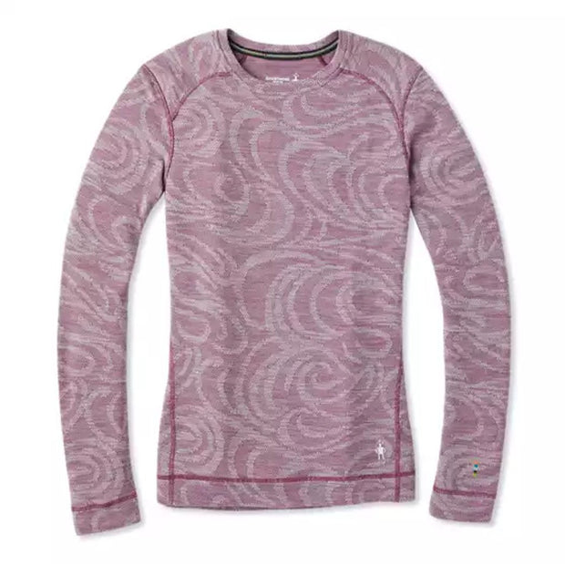 Merino 250 Base Layer Pattern Crew for Women