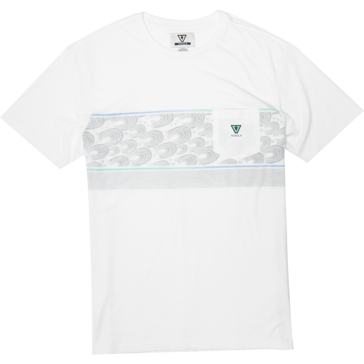 SURFRIDER SHORT SLEEVE POCKET TEE FOR MEN