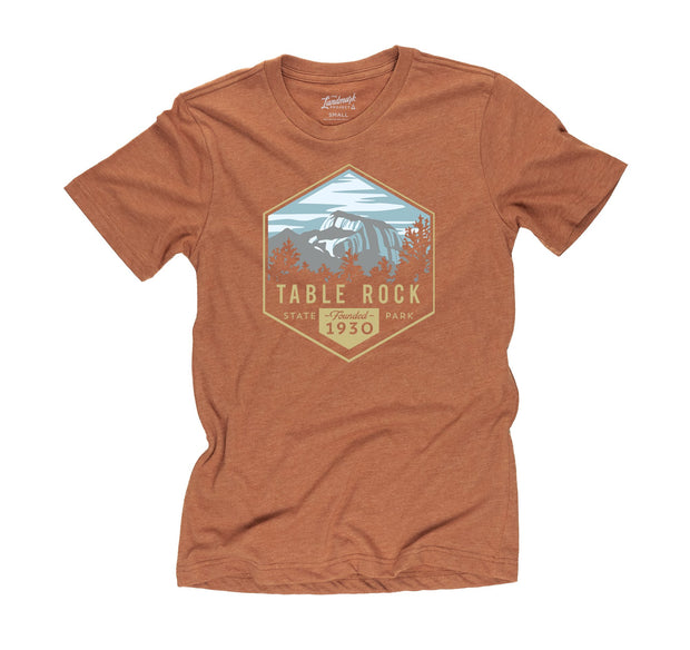 Table Rock State Park T-Shirt for Men