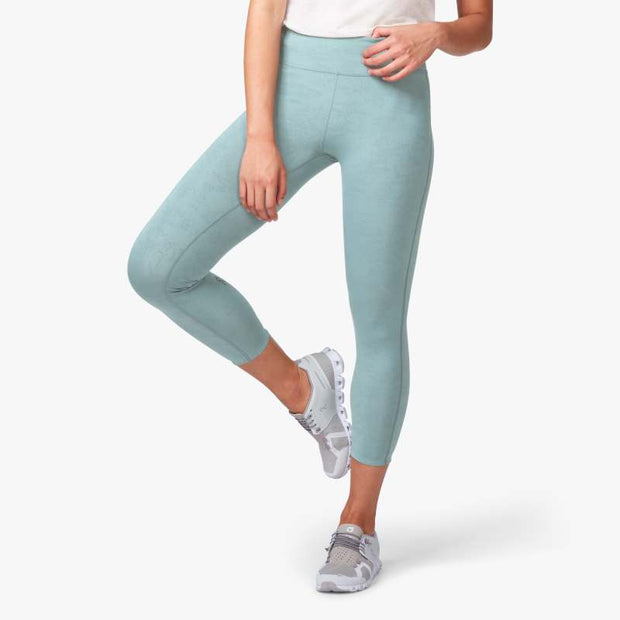 On 7/8 Tights for Women Sea