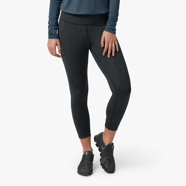 On 7/8 Tights for Women Black