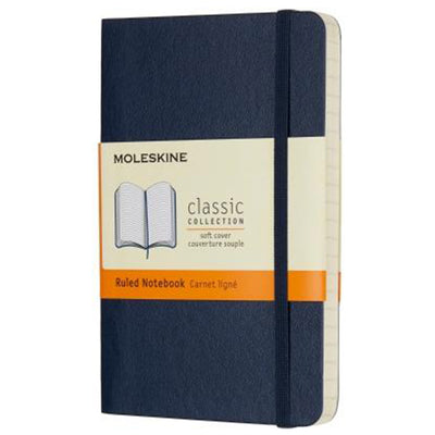 Moleskine Classic Soft Cover POCKET RULED notebook