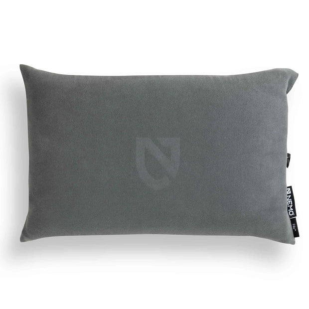 Nemo Fillo Backpacking & Camping Pillow Goodnight Gray
