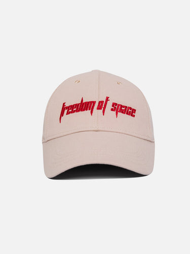 Freedom of Space Logo Cap Ivory
