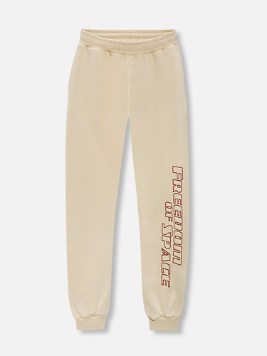 Freedom of Space Lounge Pants Ivory