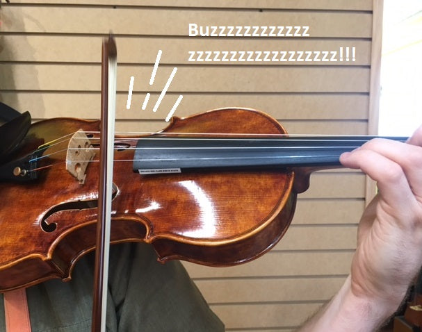 Why is My Violin Making That Sound?