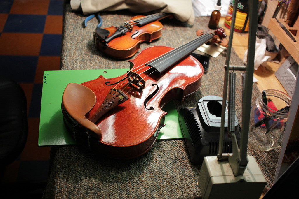 Violin of the Month - A Matched Pair of Orofino Master Models