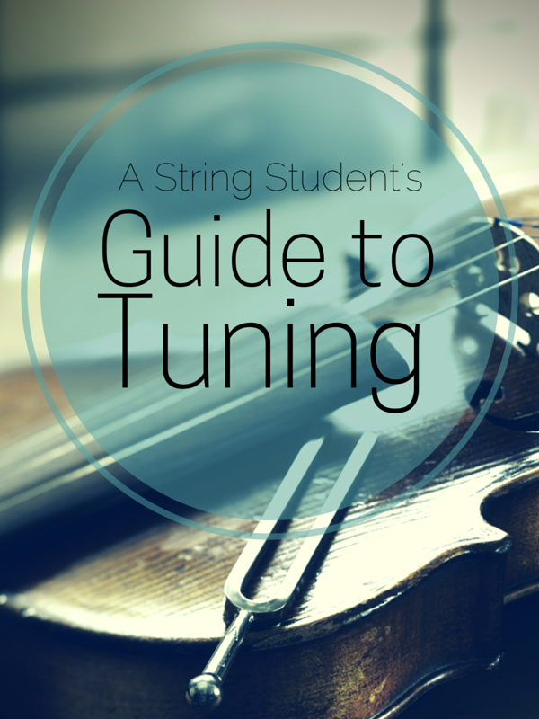 A String Student's Guide to Tuning