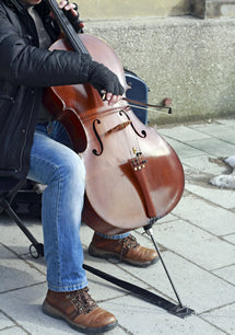 Man playing cello