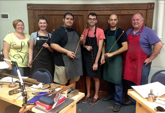Mohr Bow Making Workshop Participants