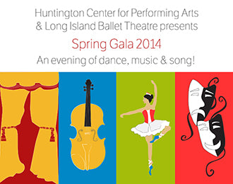 Huntington Center for Performing Arts & Long Island Ballet Theatre Spring Gala 2014