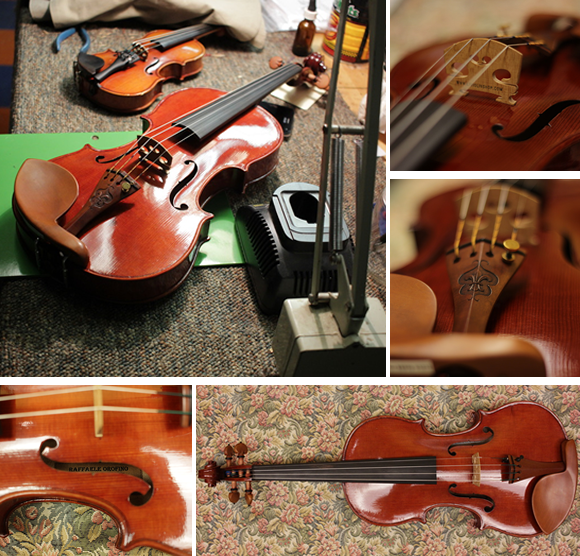 LIVS Violin of the Month - Orofino Master Models