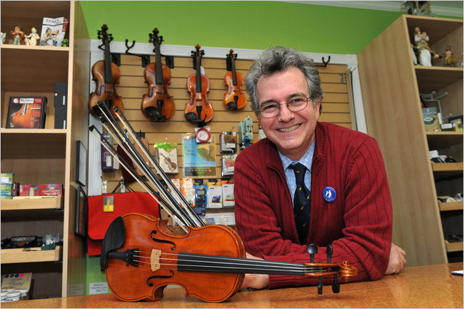 Charles J. Rufino - Master Luthier, Owner of The Long Island Violin Shop