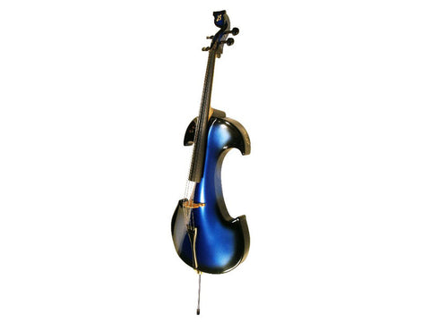 Bridge Draco 4-String Electric Cello Outfit - Blue