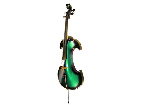 Bridge Draco 4-String Electric Cello Outfit - Green