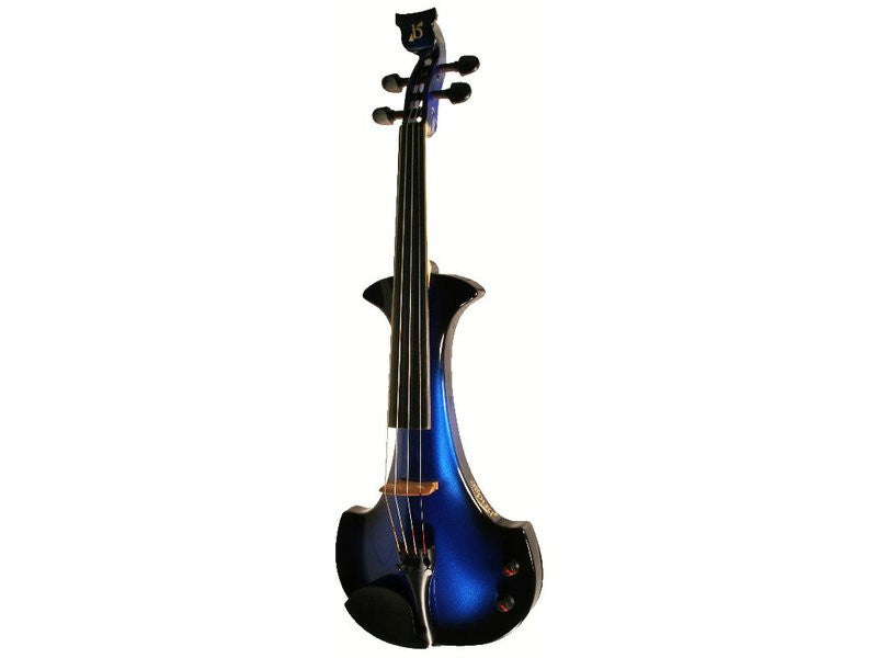 Bridge Aquila 4-String Electric Violin Outfit - Black / Blue