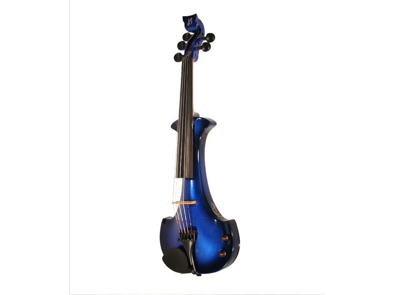 Bridge Lyra 5-String Electric Violin Outfit - Black / Blue