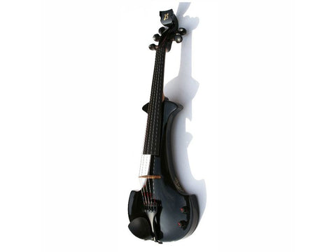 Bridge Lyra 5-String Electric Violin Outfit - Black