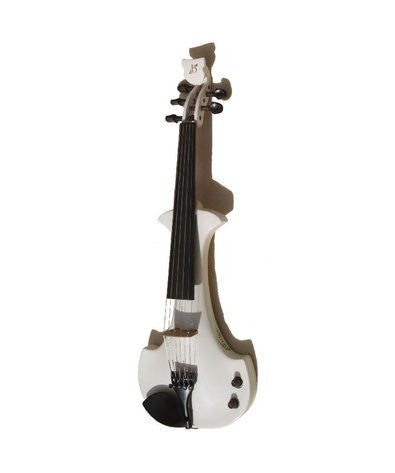 Bridge Lyra 5-String Electric Violin Outfit - Black / White