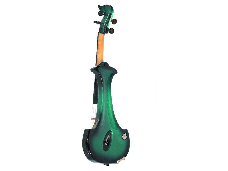 Bridge Aquila 4-String Electric Violin Outfit - Back
